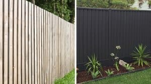 Colorbond Fencing versus Timber Fencing